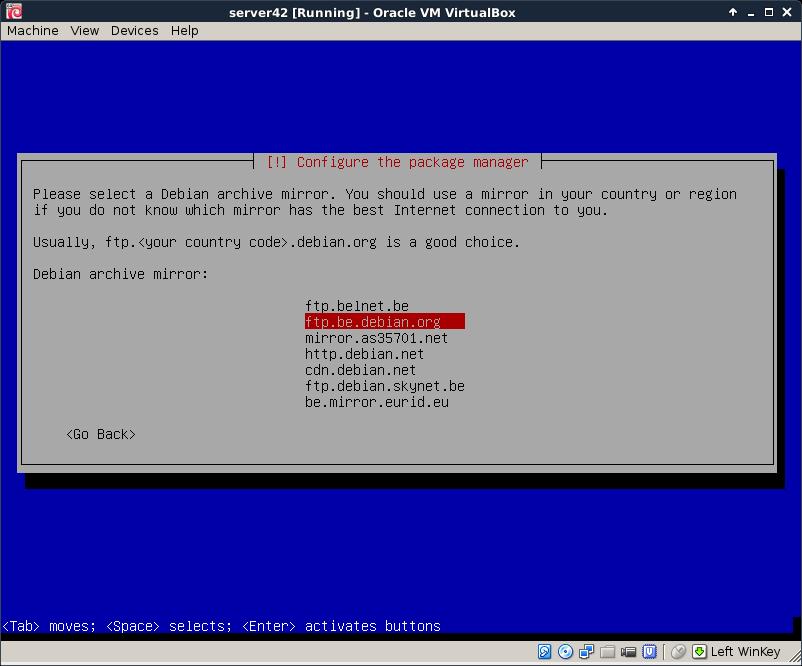Chapter 4  installing Debian 8