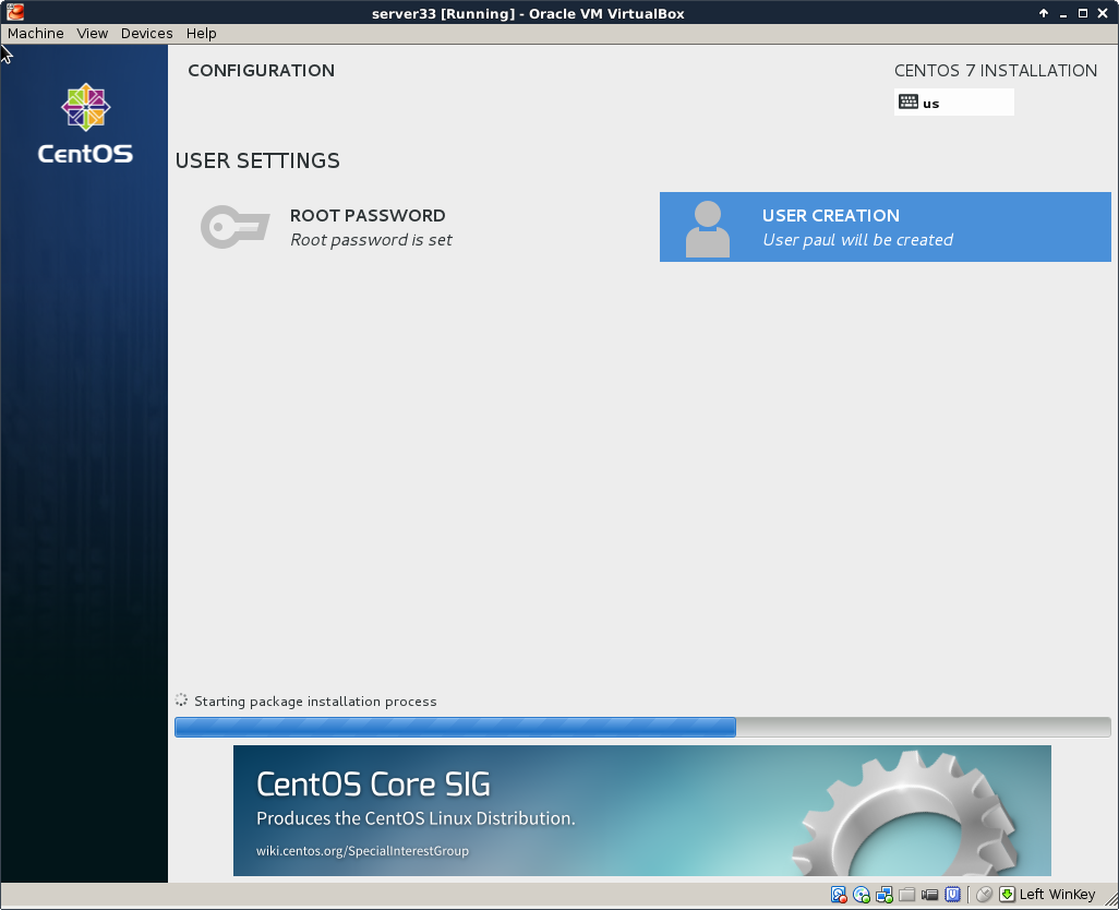 Chapter 5  installing CentOS 7